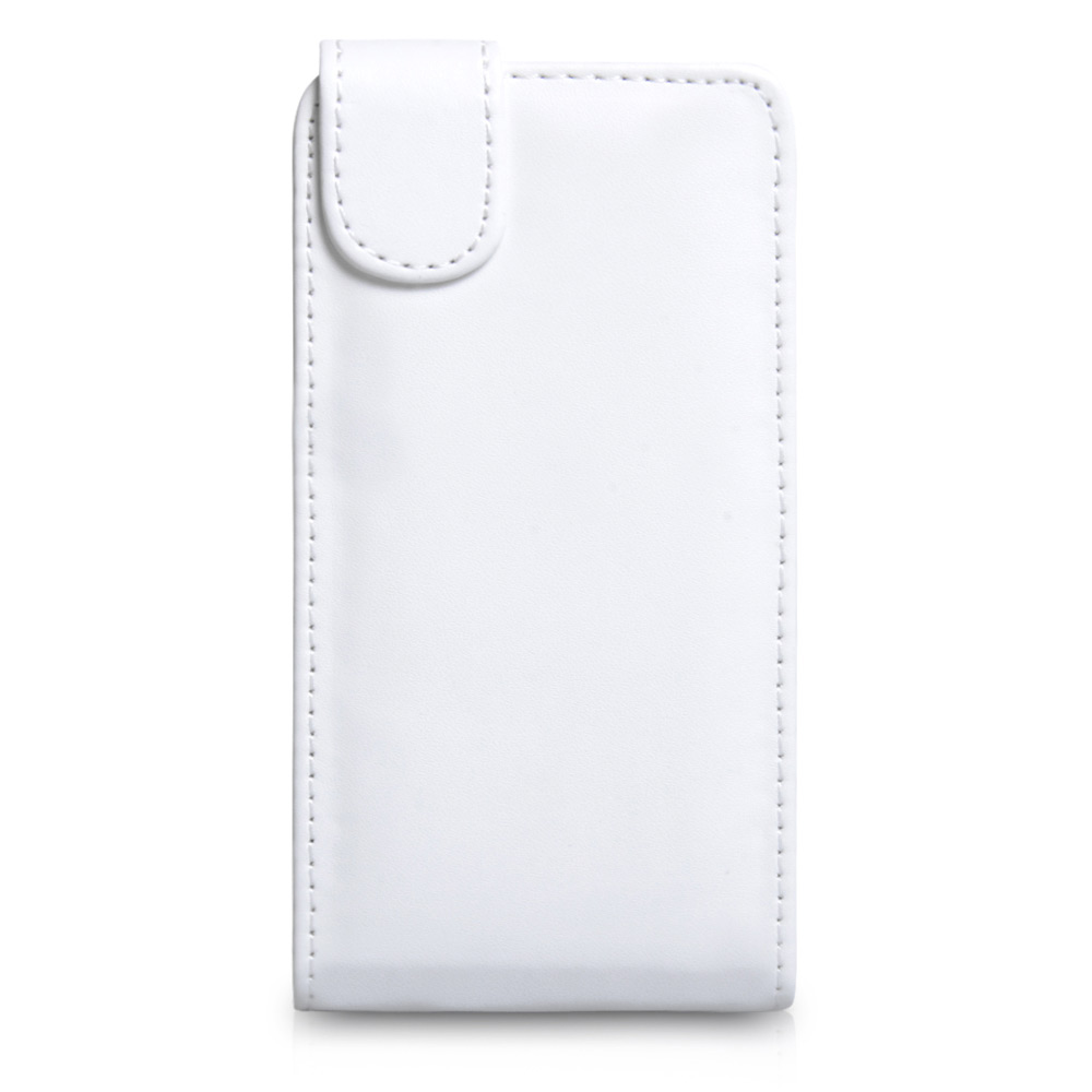 YouSave Accessories HTC One Leather Effect Flip Case - White