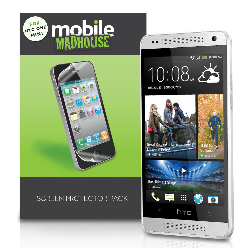 YouSave Accessories HTC One Mini Screen Protectors x5