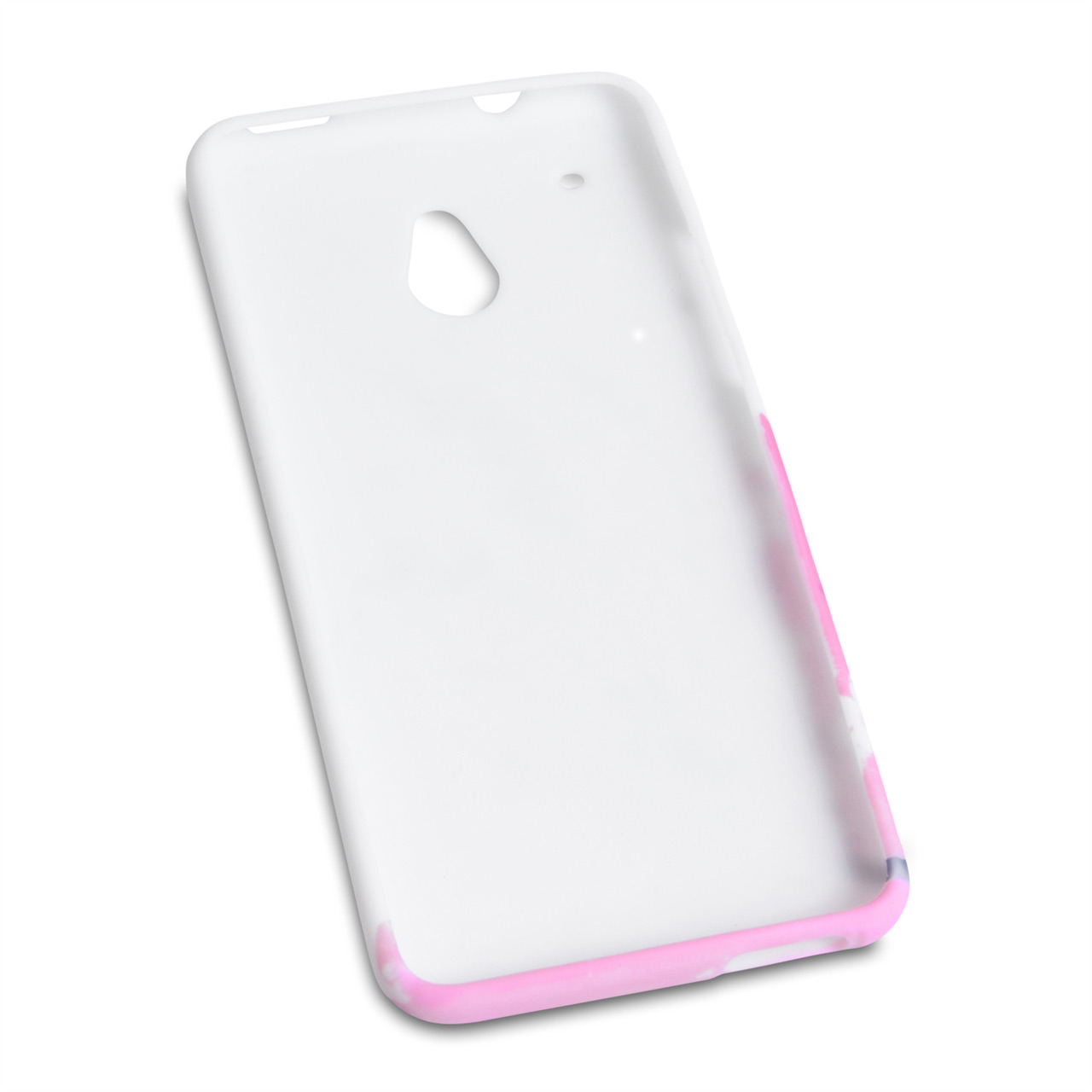 YouSave Accessories HTC One Mini Floral Bee Silicone Gel Case