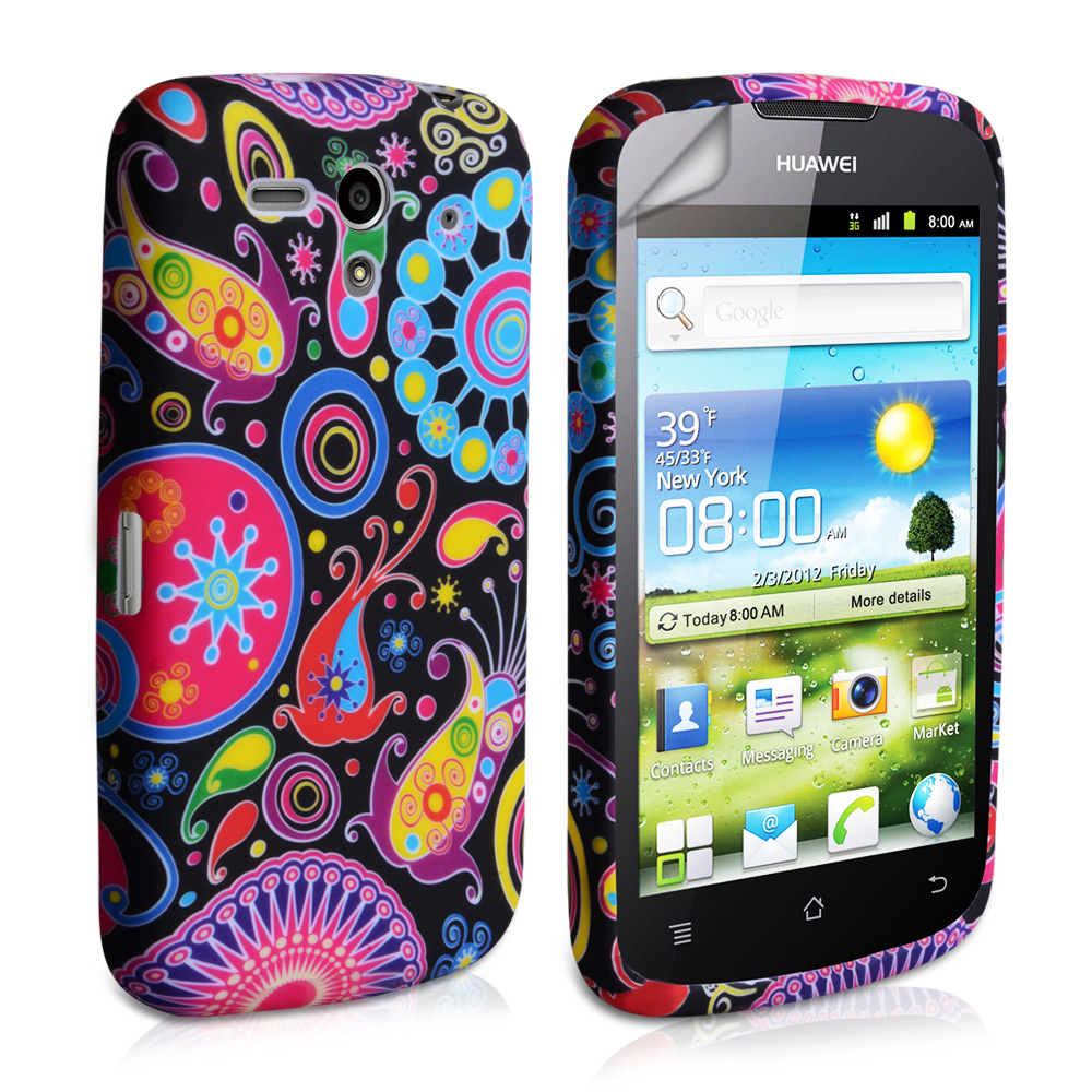YouSave Accessories Huawei Ascend G300 Jellyfish Silicone Gel Case