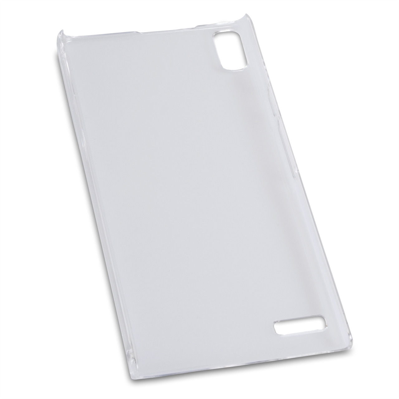 YouSave Accessories Huawei Ascend P6 Clear Ultra Thin Hard Case