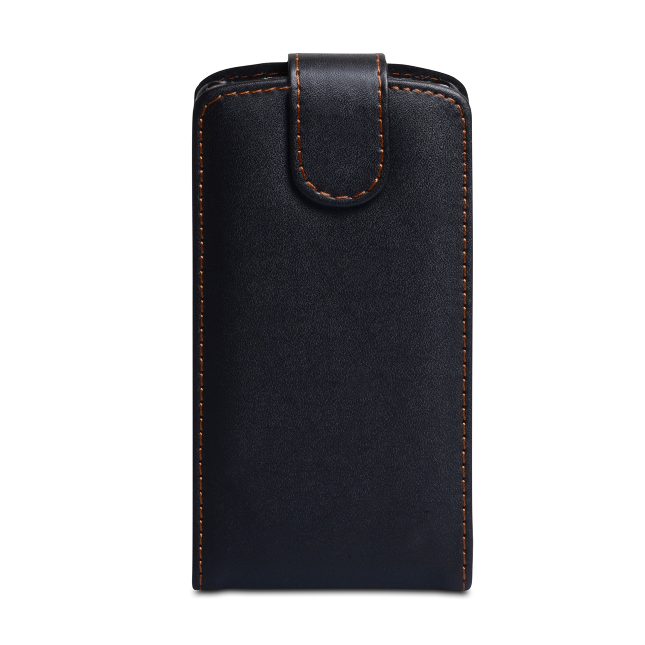 YouSave Accessories Huawei Ascend P6 Leather-Effect Flip Case - Black