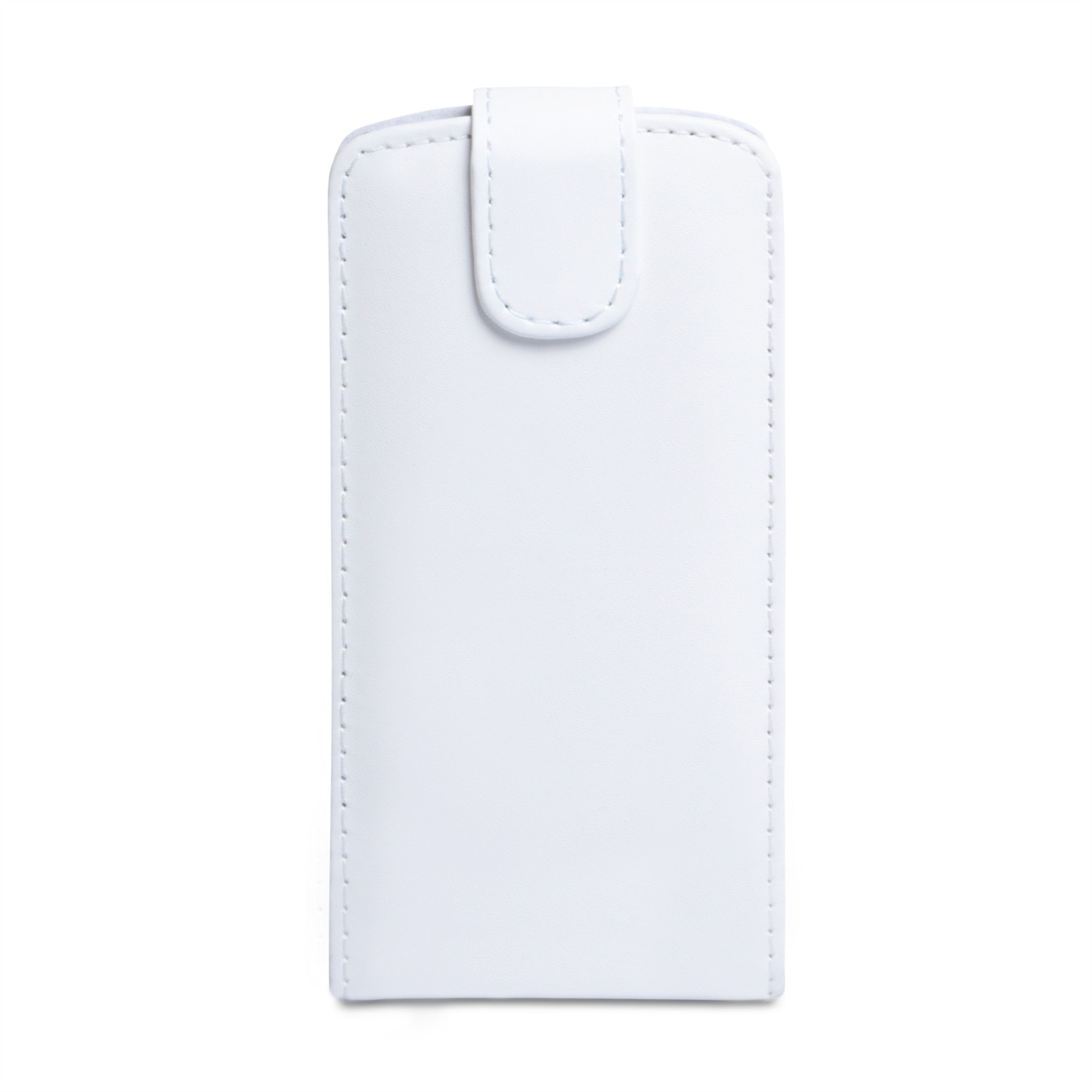 YouSave Accessories Huawei Ascend P6 Leather-Effect Flip Case - White