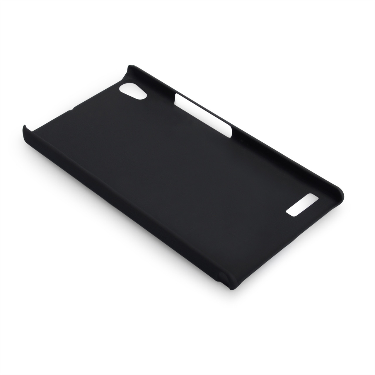 YouSave Accessories Huawei Ascend P6 Black Hybrid Hard Case