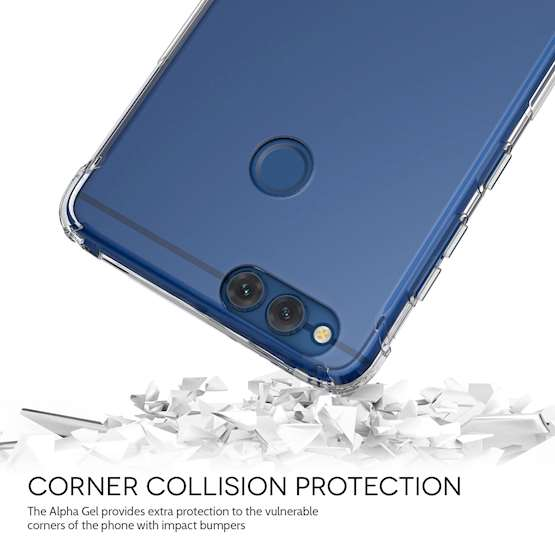 Huawei Honor 7X Alpha Gel Case - Clear
