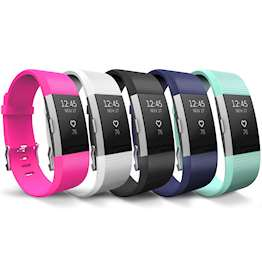 Fitbit Charge 2 Strap 5-Pack - Large