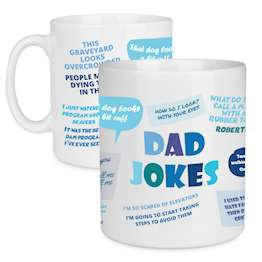 Dad Jokes Tea & Coffee Cup – Fathers Day Gift Mug