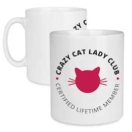 Crazy Cat Lady Club Mug