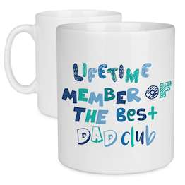 Best Dad Club, Farthers Day Mug