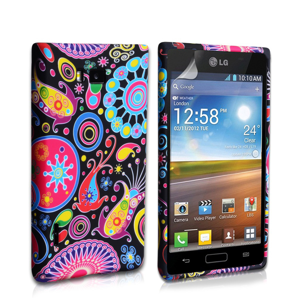 YouSave Accessories LG Optimus L7 Jellyfish Gel Case