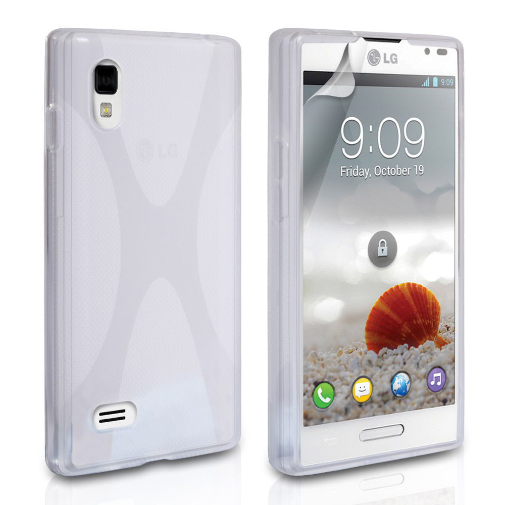 YouSave Accessories LG Optimus L9 Clear X-Line Gel Case