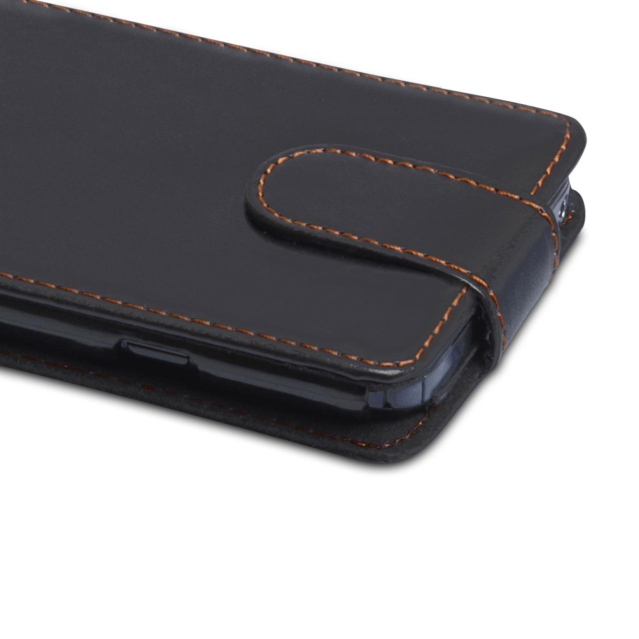 YouSave Accessories LG G Pro Leather Effect Flip Case - Black