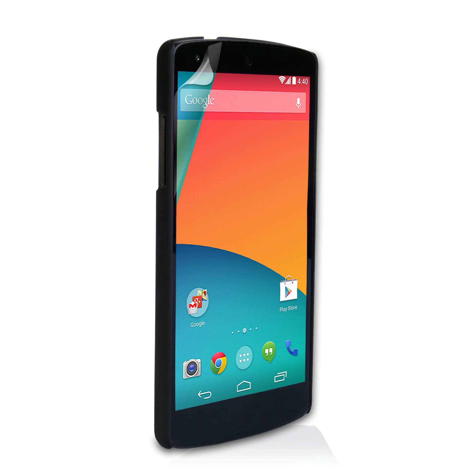 YouSave Accessories Nexus 5 Hard Hybrid Case - Black