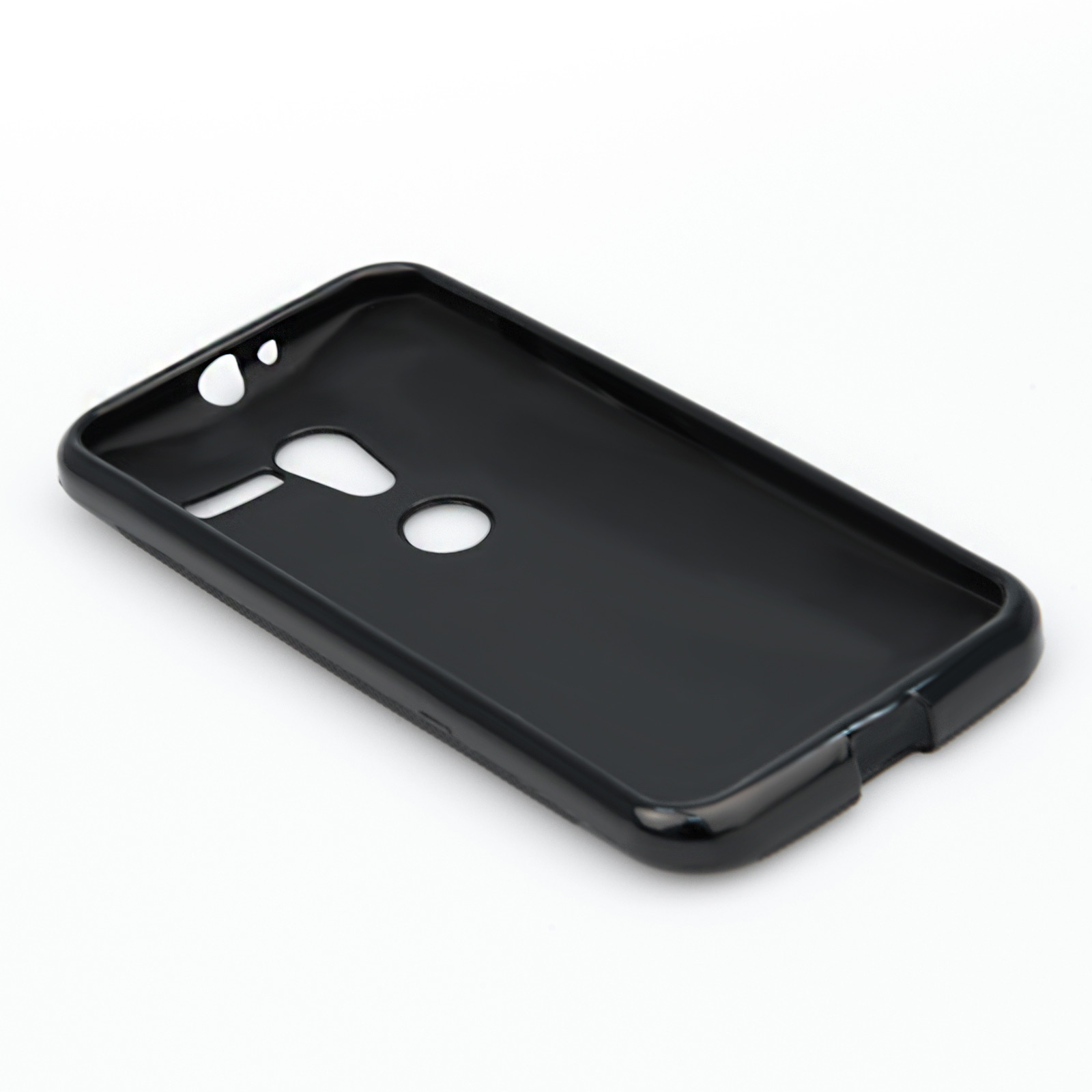 YouSave Accessories Motorola Moto X Silicone Gel X-Line Case - Black