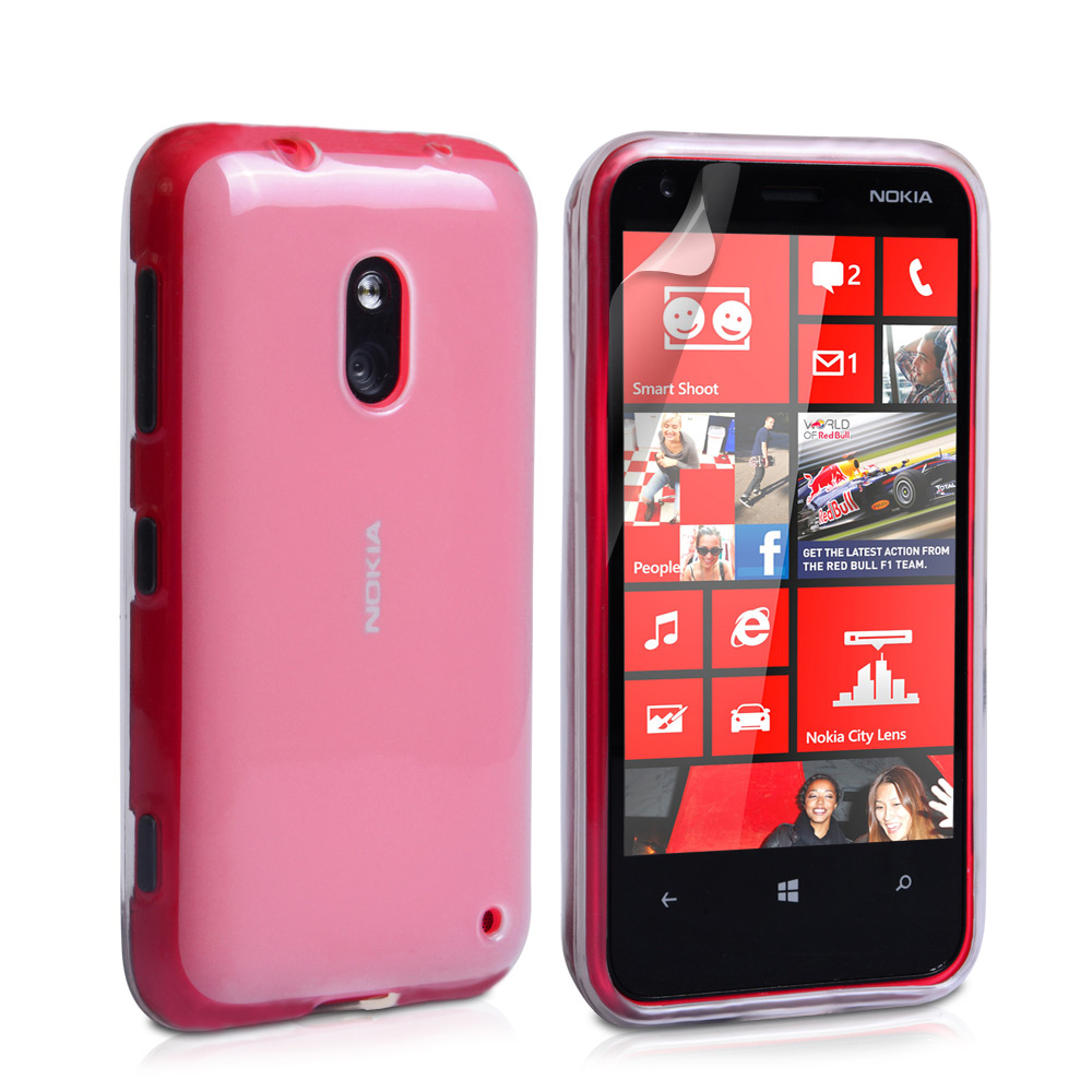 YouSave Accessories Nokia Lumia 620 Gel Case - Clear