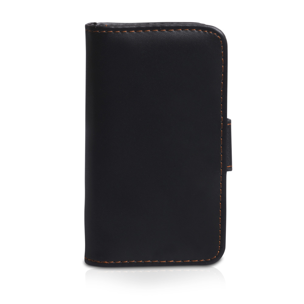 YouSave Accessories Nokia Lumia 620 Leather Effect Wallet Case - Black