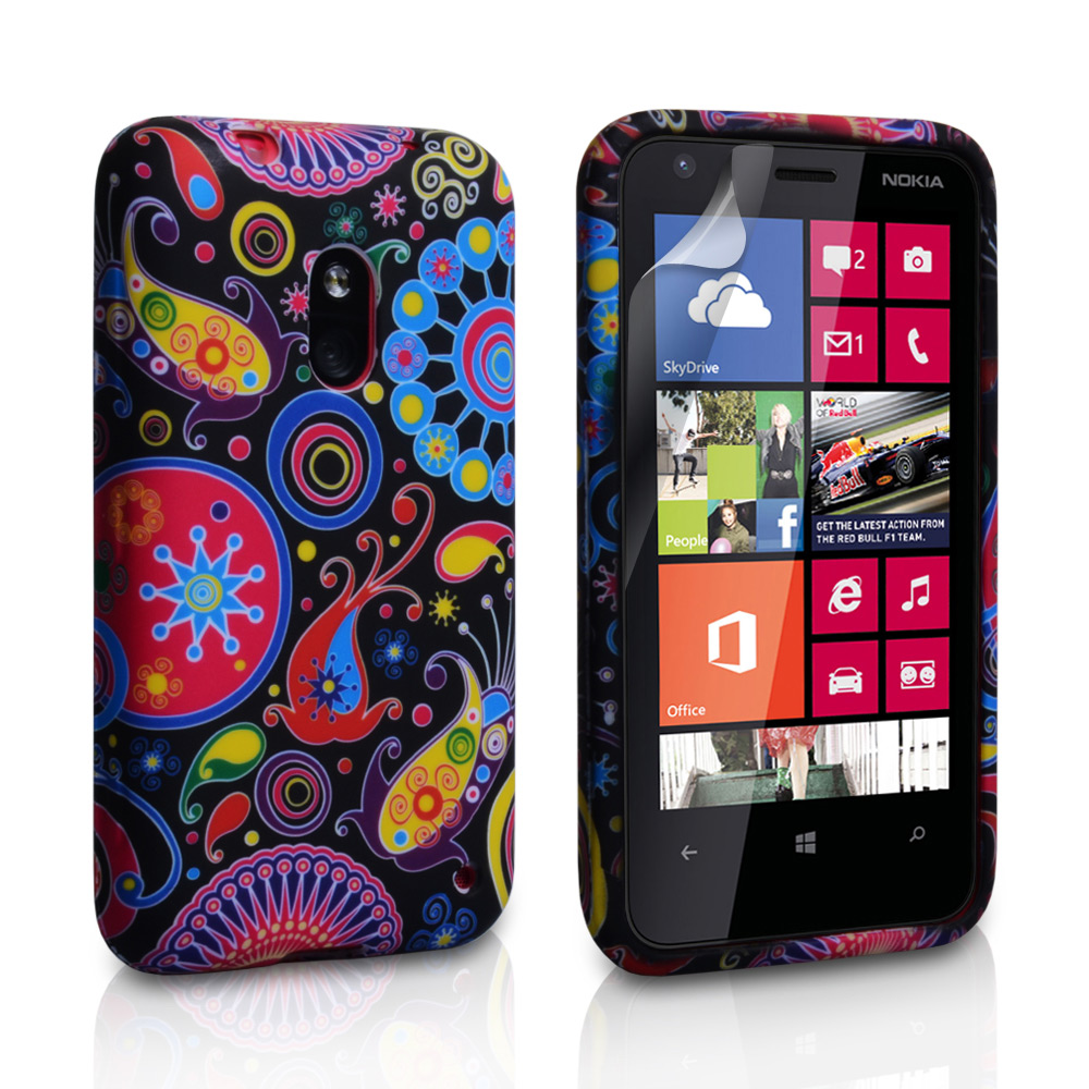 YouSave Accessories Nokia Lumia 620 Jellyfish Silicone Gel Case