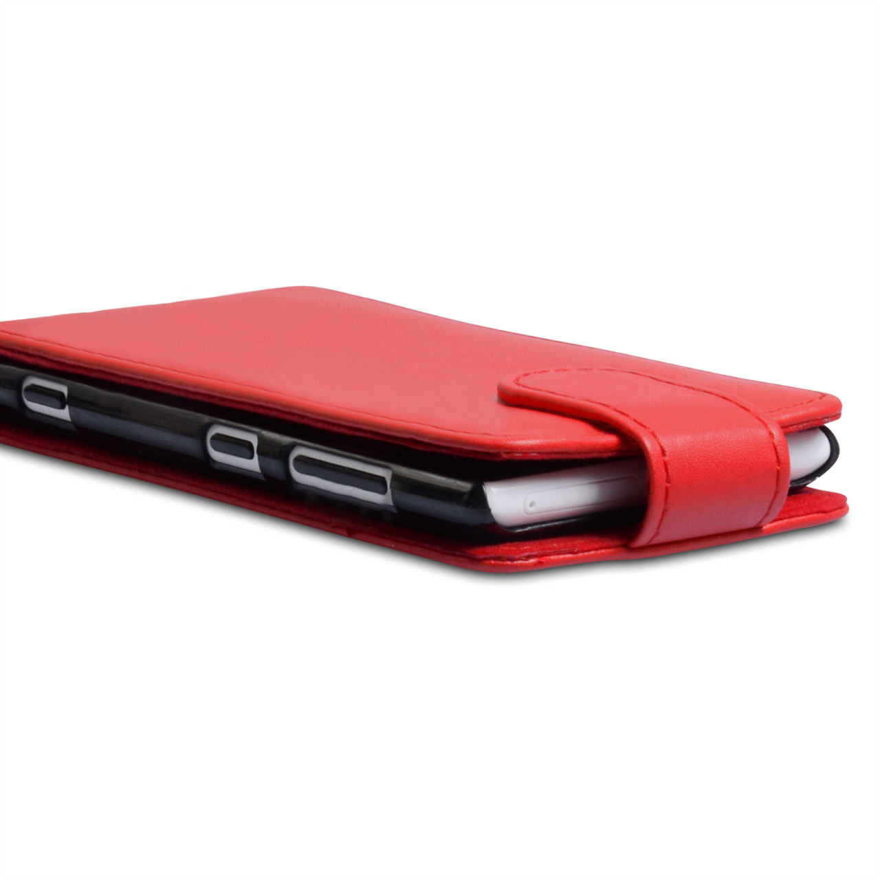 YouSave Accessories Nokia Lumia 720 Red Leather Effect Flip Case