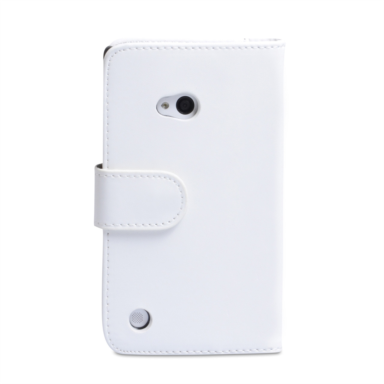 YouSave Accessories Nokia Lumia 720 Leather Effect Wallet Case - White