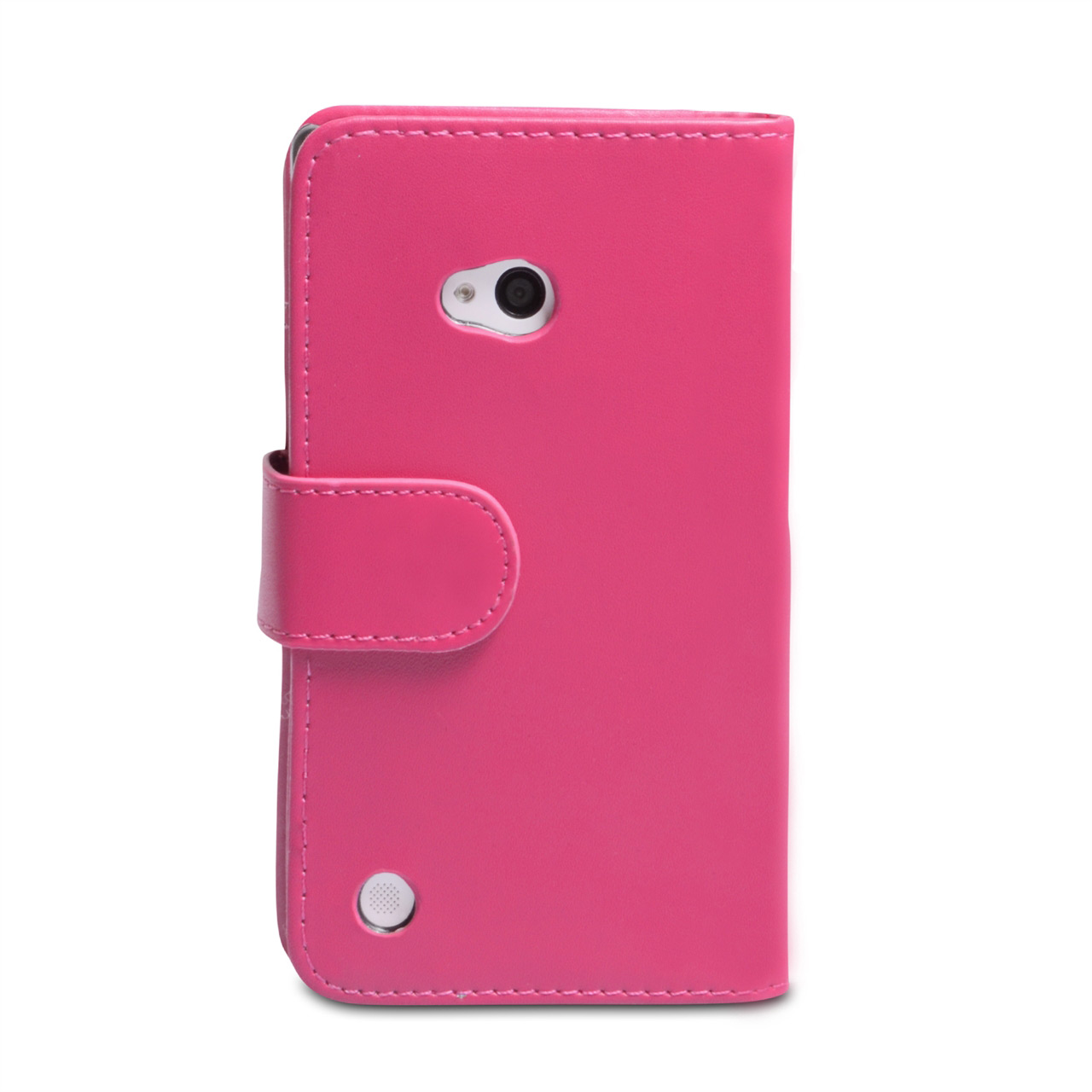 YouSave Nokia Lumia 720 Leather Effect Wallet Case - Hot Pink