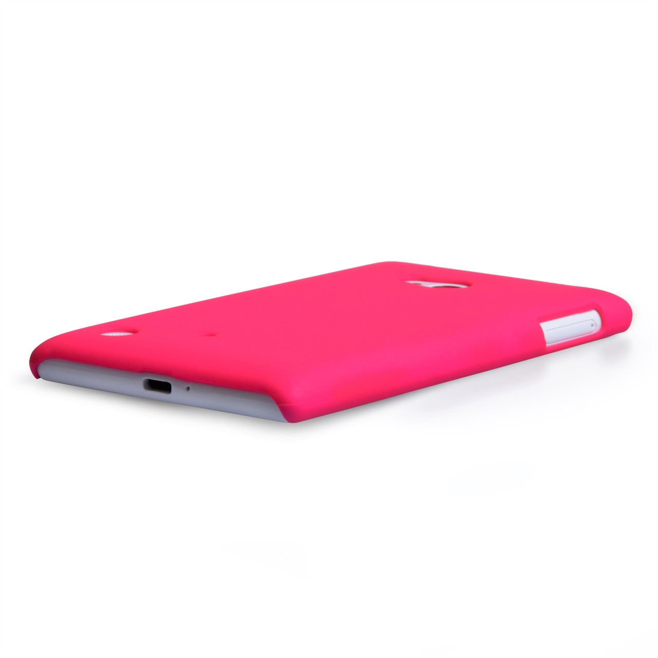 YouSave Accessories Nokia Lumia 720 Hard Hybrid Case - Hot Pink