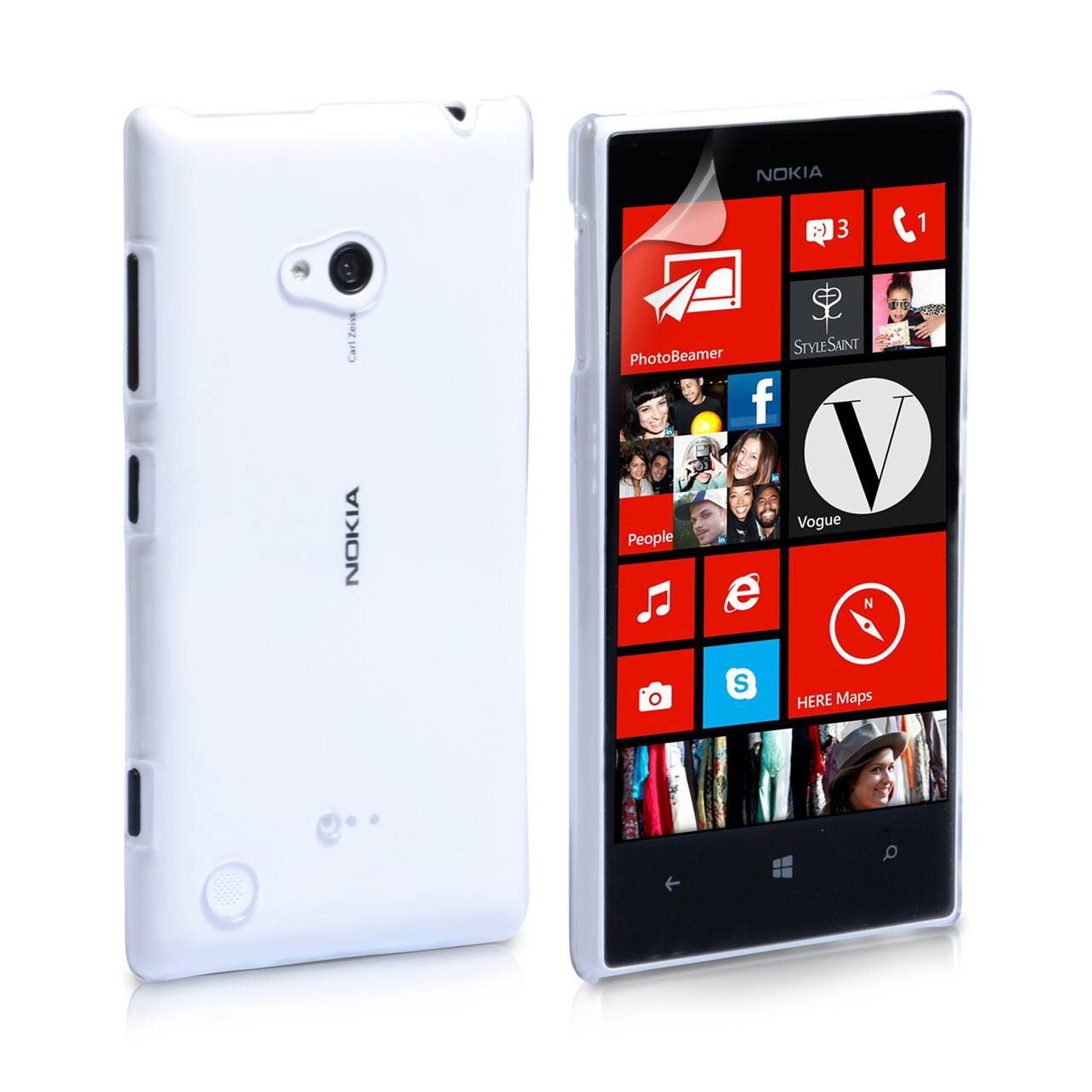 YouSave Accessories Nokia Lumia 720 Hard Case - Clear