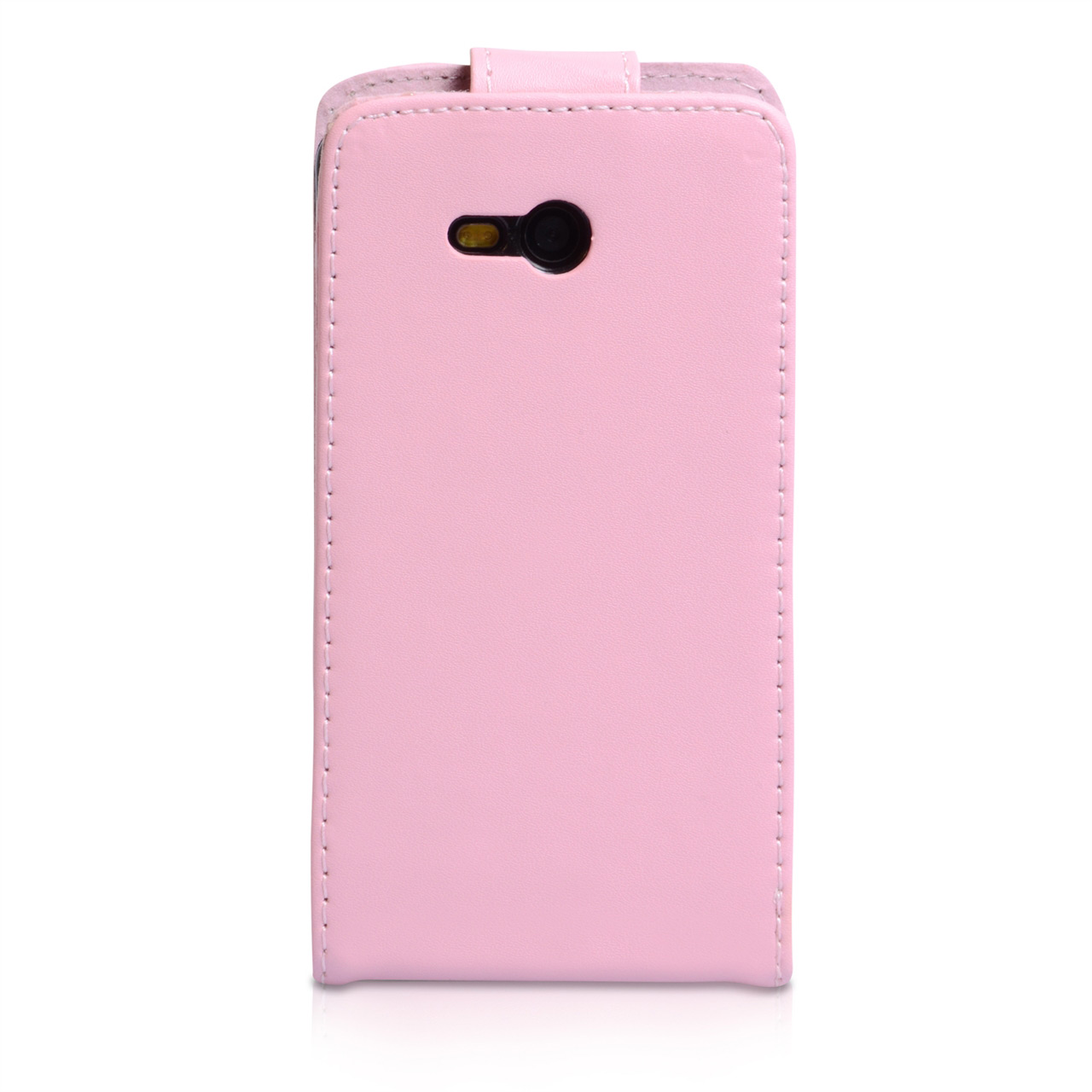 YouSave Nokia Lumia 820 Leather Effect Flip Case - Baby Pink