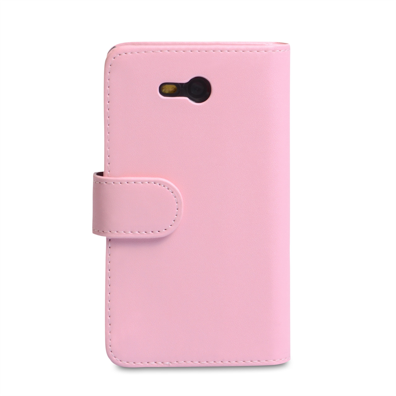 YouSave Nokia Lumia 820 Leather Effect Wallet Case - Baby Pink