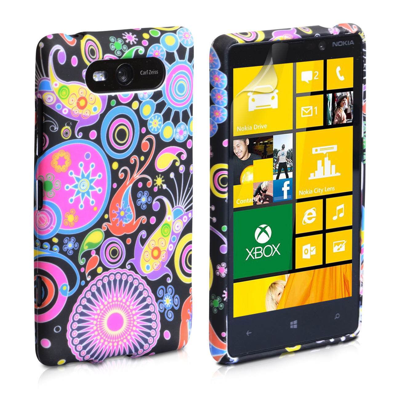 YouSave Accessories Nokia Lumia 820 Jellyfish Silicone Gel Case