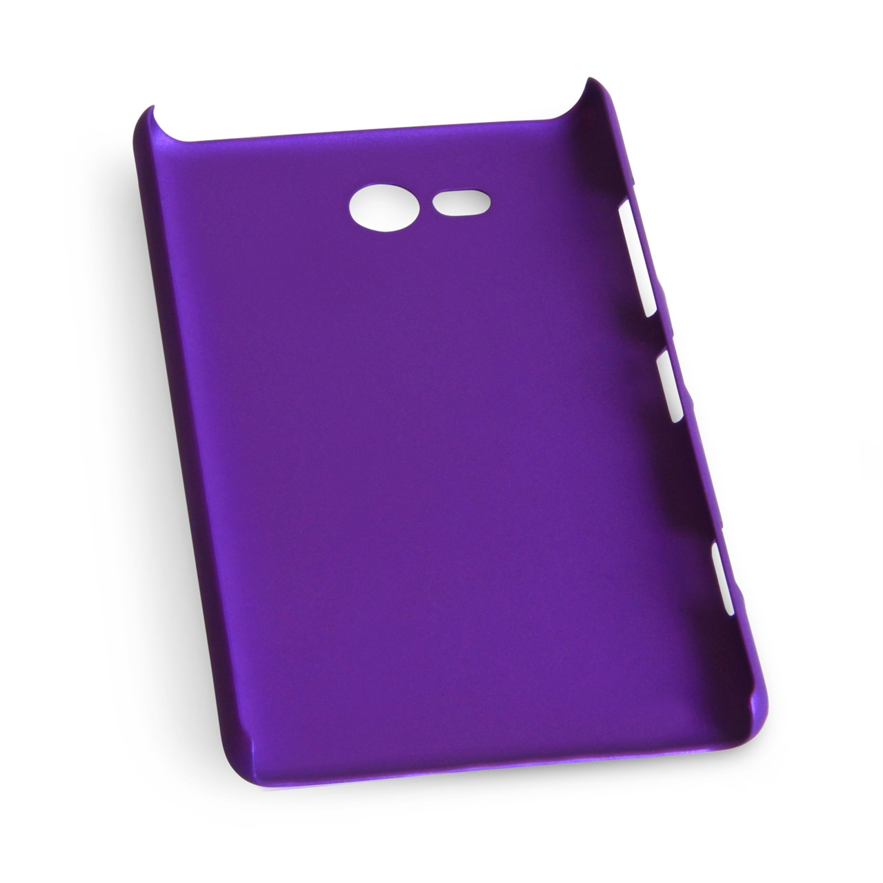 YouSave Accessories Nokia Lumia 820 Hybrid Hard Case - Purple