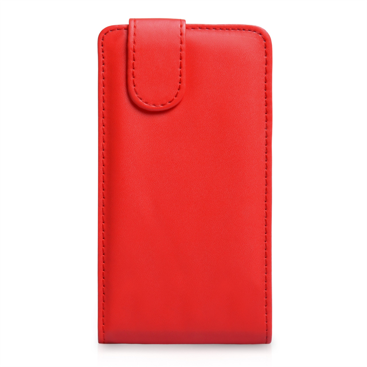 YouSave Accessories Nokia Lumia 925 Leather Effect Flip Case - Red