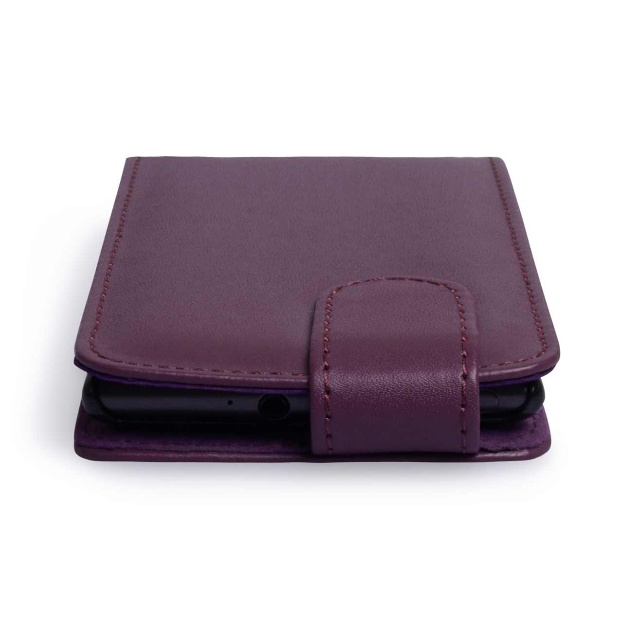 YouSave Accessories Nokia Lumia 925 Leather Effect Flip Case - Purple