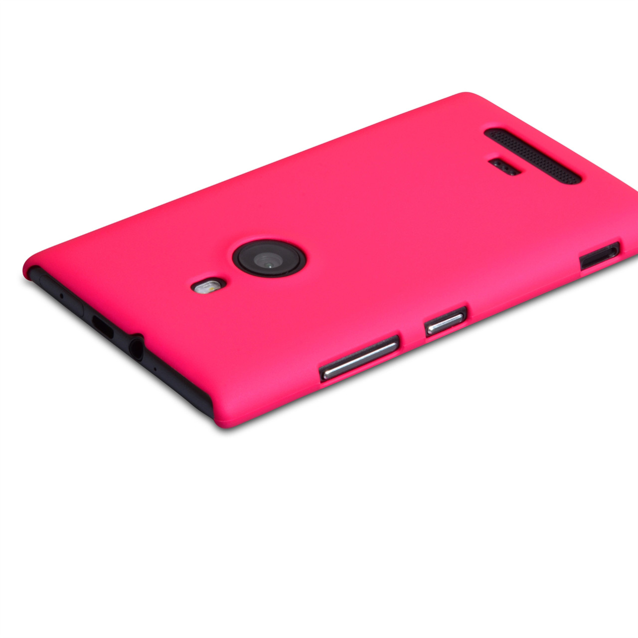 YouSave Accessories Nokia Lumia 925 Hard Hybrid Case - Hot Pink