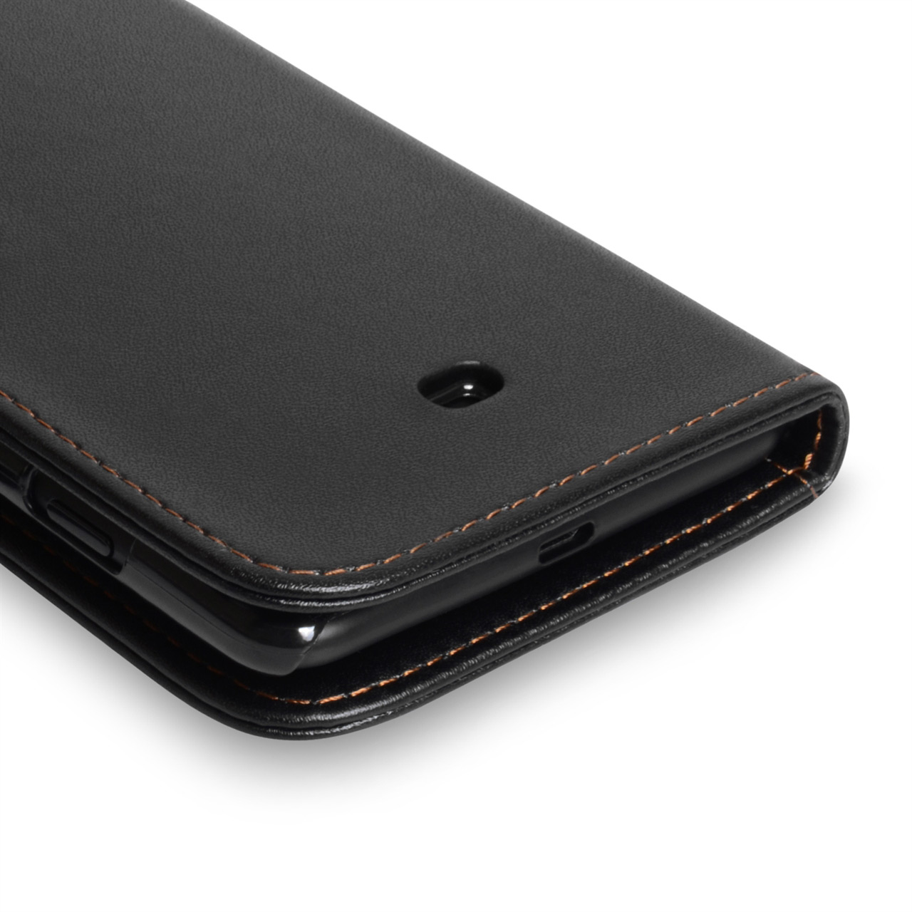 YouSave Accessories Nokia Lumia 625 Leather Effect Wallet Case - Black