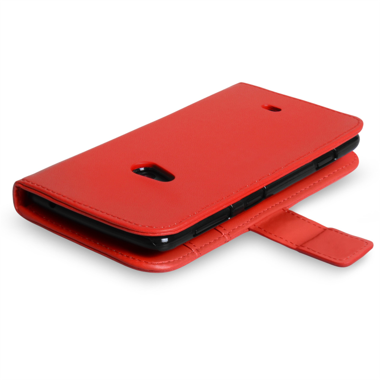 YouSave Accessories Nokia Lumia 625 Leather Effect Wallet Case - Red