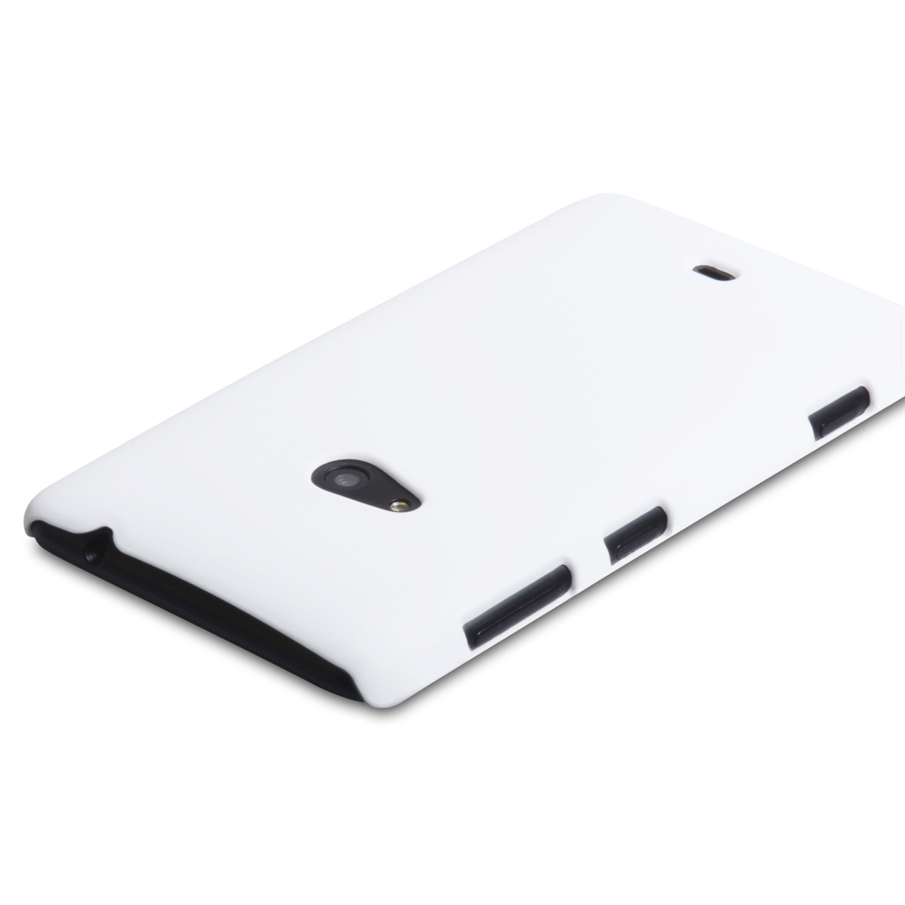 YouSave Accessories Nokia Lumia 625 Hybrid Hard Case - White