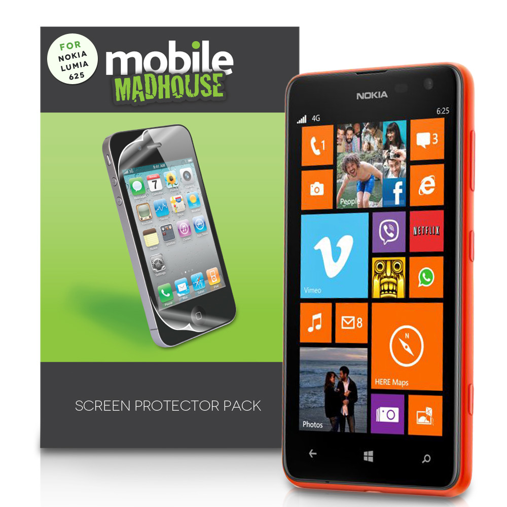 YouSave Accessories Nokia Lumia 625 Screen Protectors 3 Pack