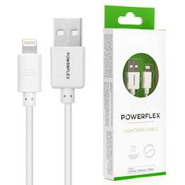 Powerfelx Apple 1m Lightning Cable - White