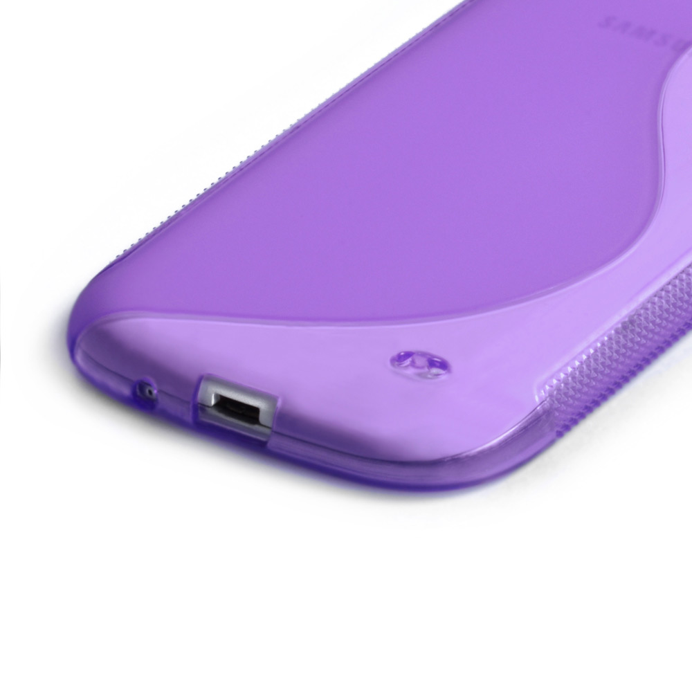 Caseflex Samsung Galaxy S3 S-Line Gel Case - Purple