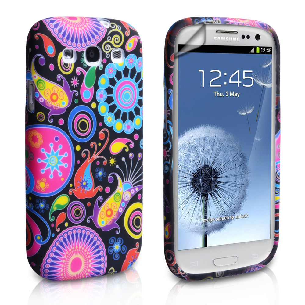 superior quality 71e82 e2648 Yousave Accessories Samsung Galaxy S3 Jellyfish Gel Case - Black