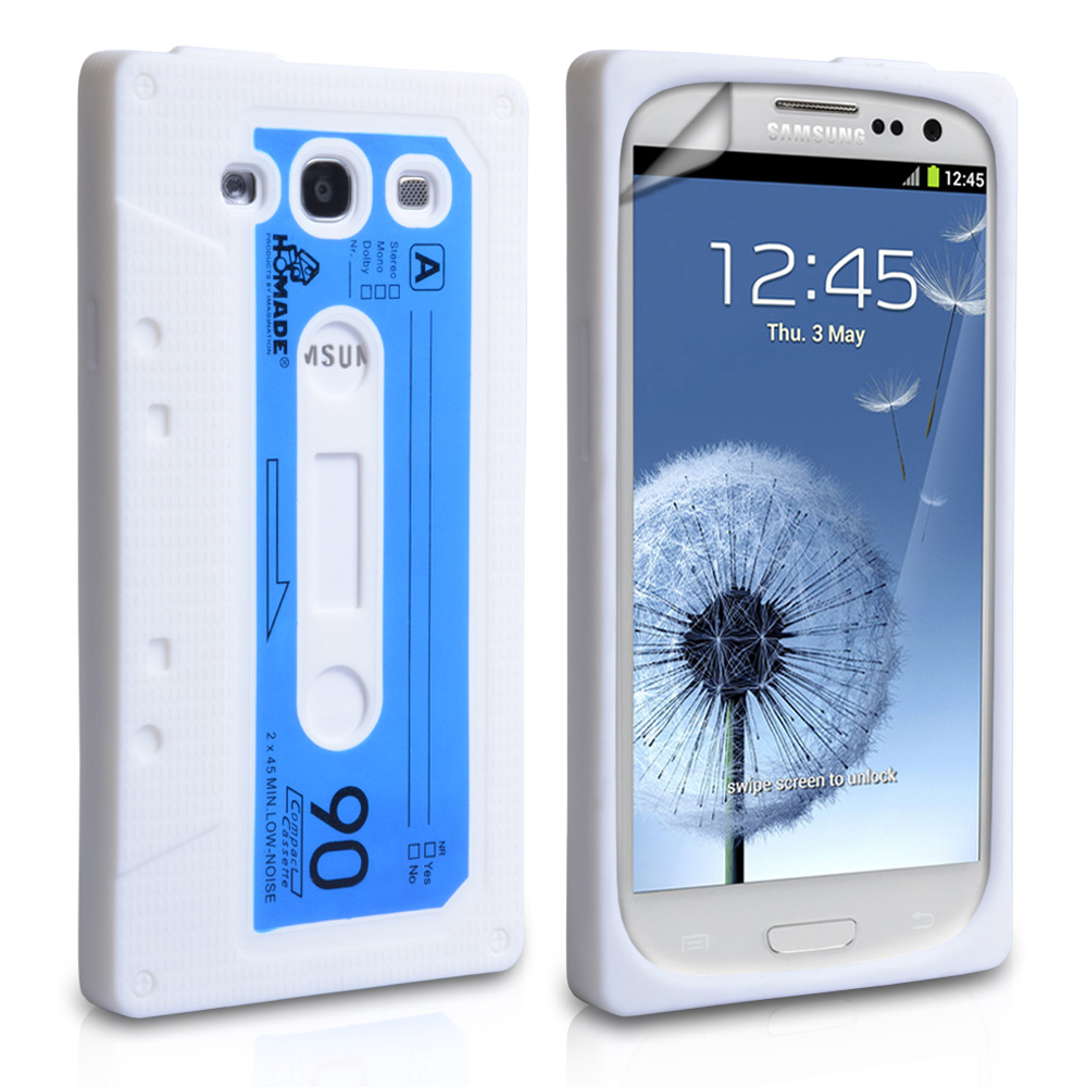 YouSave Accessories Samsung Galaxy S3 White Cassette Case