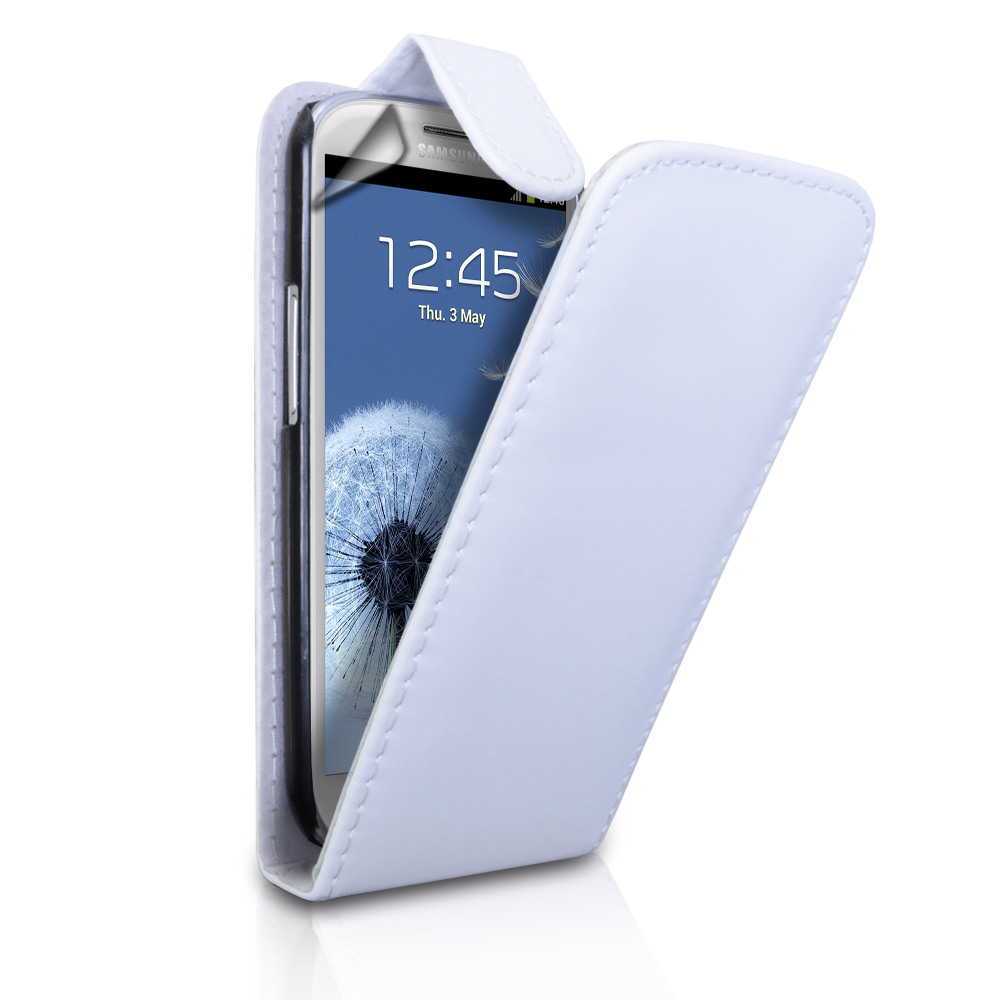 YouSave Accessories Samsung Galaxy S3 Leather Effect Flip Case - White