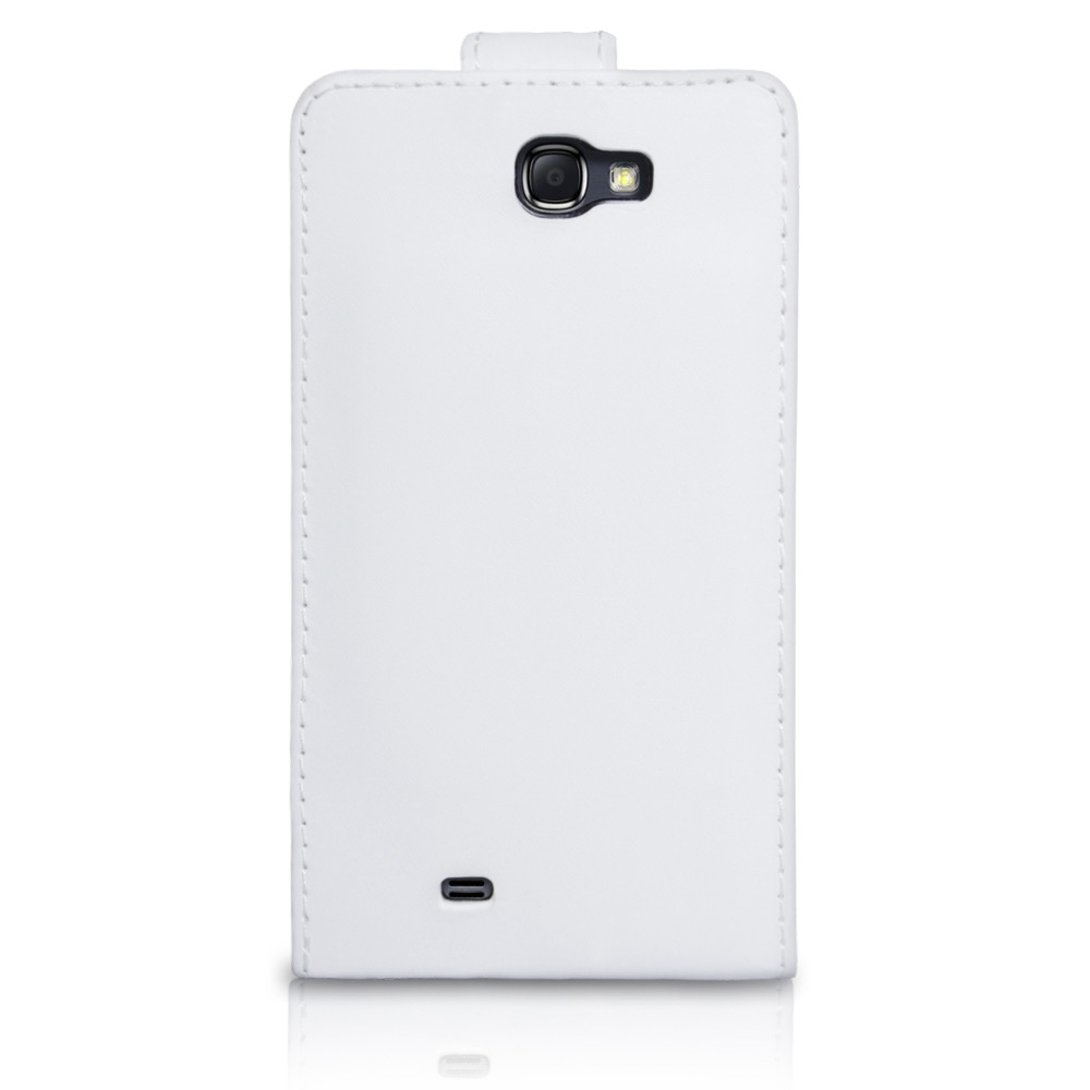 YouSave Samsung Galaxy Note 2 Leather Effect Flip Case - White