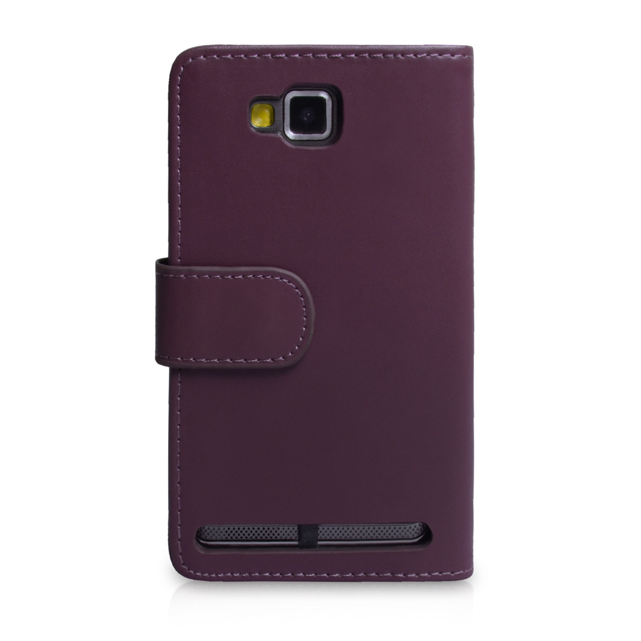 YouSave Accessories Samsung Ativ S Purple Leather Effect Wallet Case