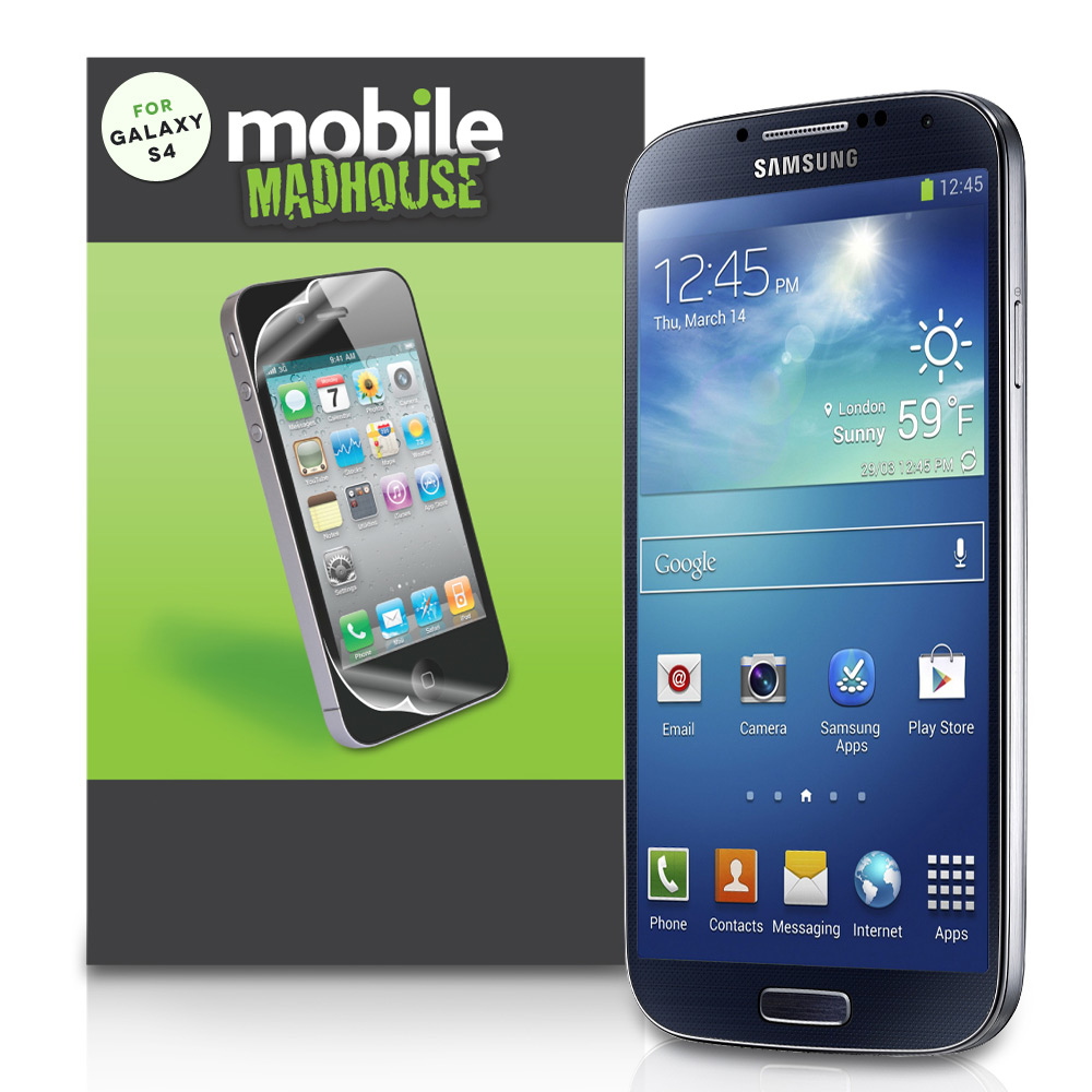 YouSave Accessories Samsung Galaxy S4 Screen Protectors x3