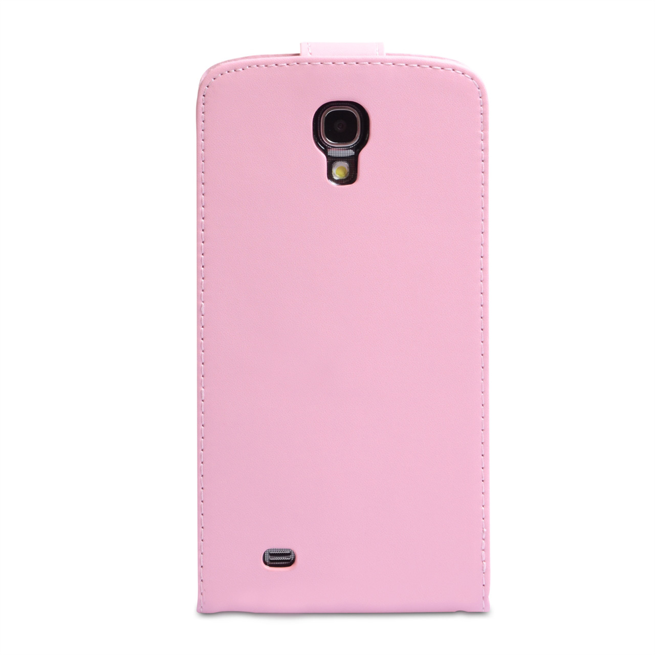 YouSave Samsung Galaxy Mega 6.3 Leather Effect Flip Case - Baby Pink