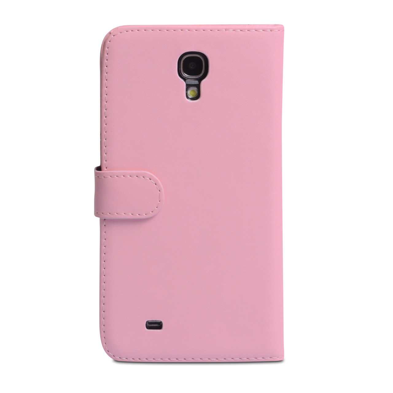 YouSave Samsung Galaxy Mega 6.3 Leather Effect Wallet Case - Baby Pink