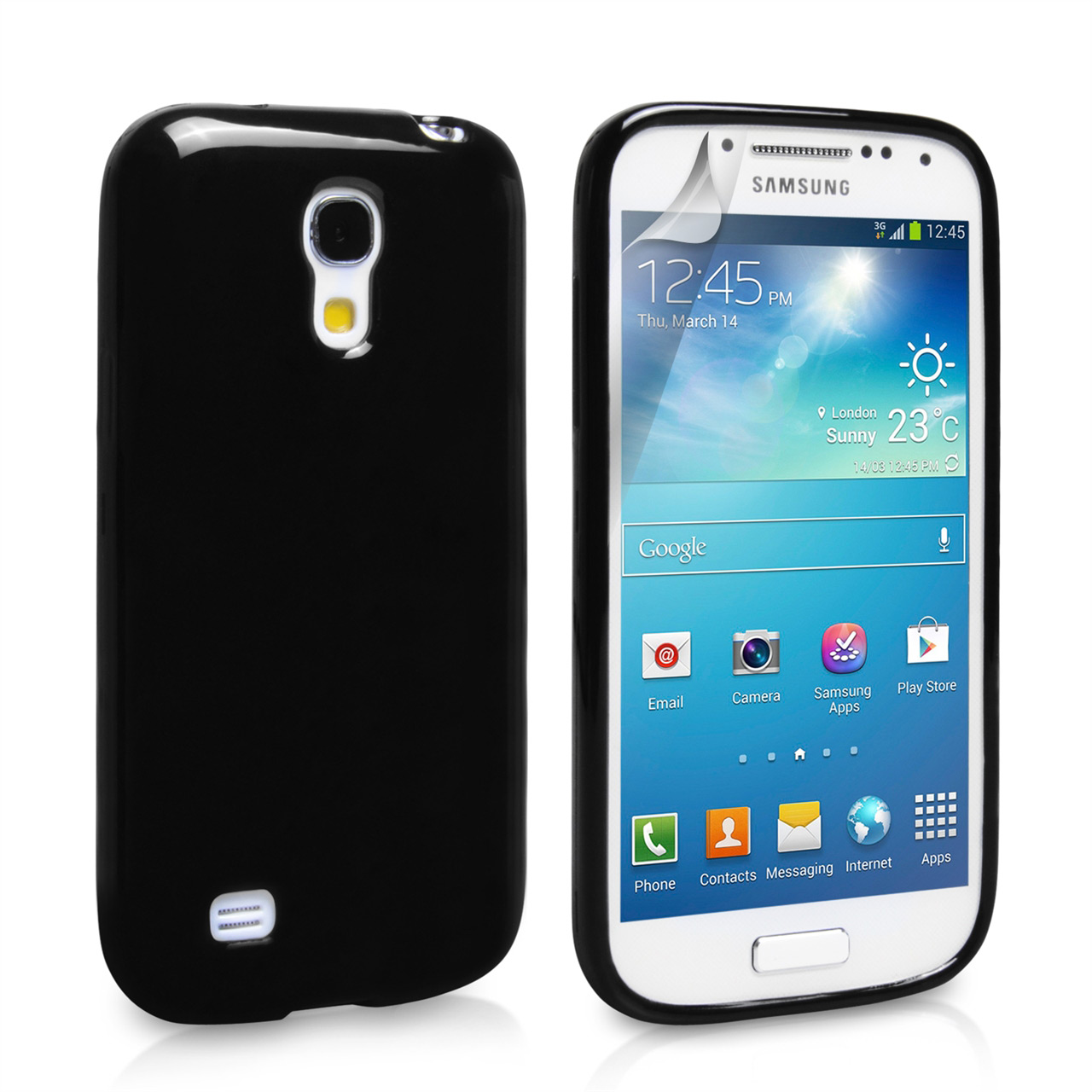 YouSave Accessories Samsung Galaxy S4 Mini Black Gel Case