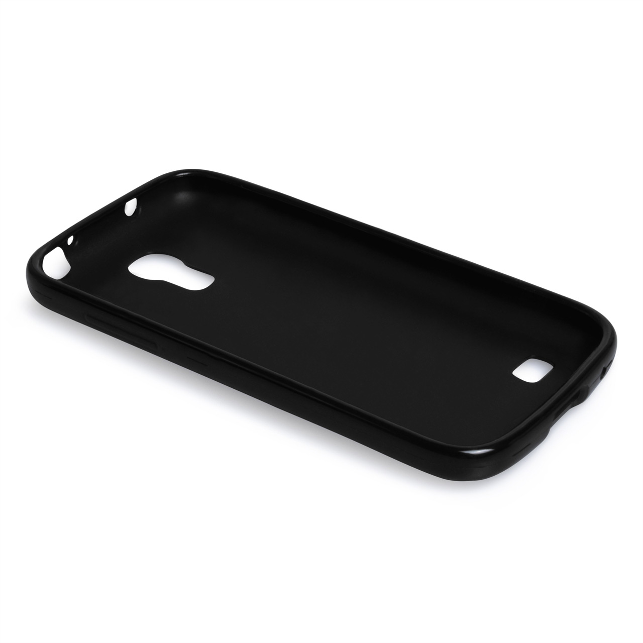 samsung galaxy s4 phone black. yousave accessories samsung galaxy s4 mini black gel case phone