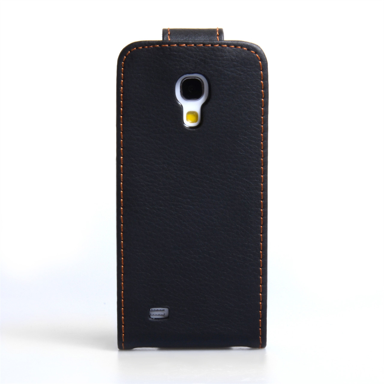 YouSave Samsung Galaxy S4 Mini Leather Effect Flip Case - Black
